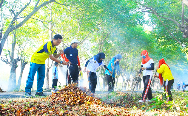 Pengaruh Sanitasi Area Kerja
