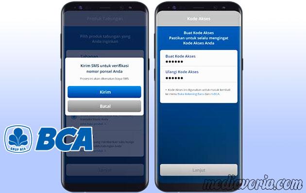 Verifikasi Nomor Handphone BCA Online