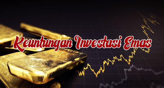 Keuntungan Investasi Emas Online